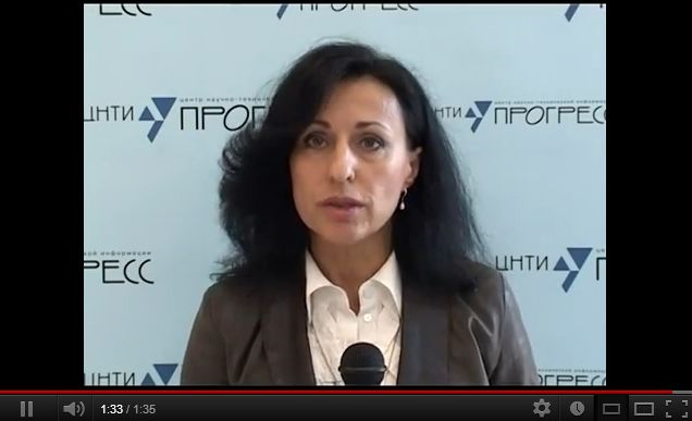 Т.Кариус - ведущая семинара Международный этикет и протокол